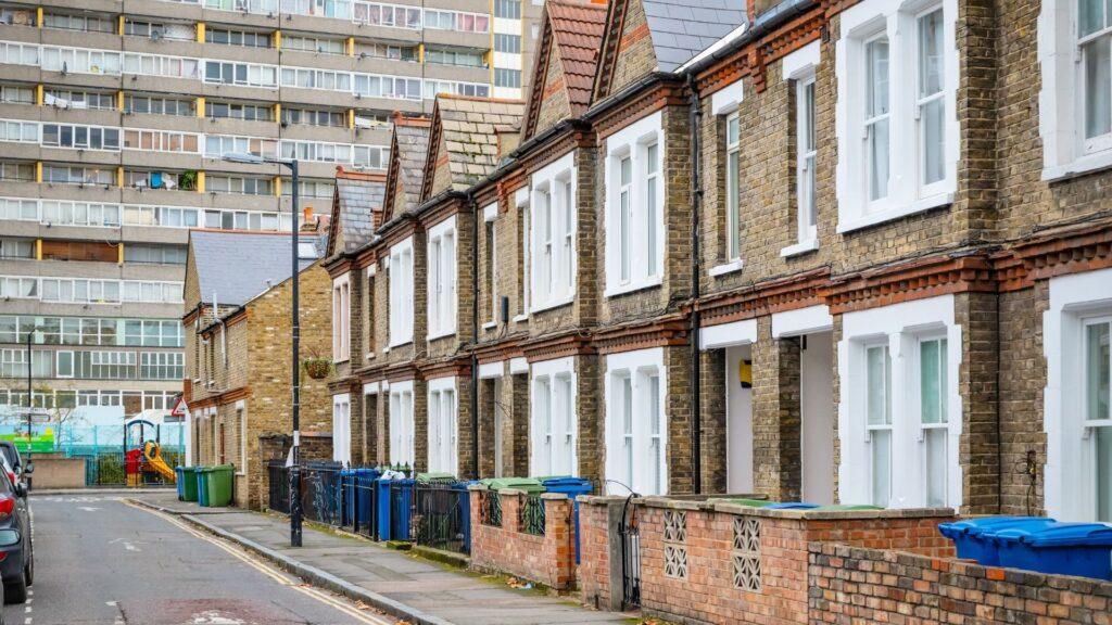 Council housing street
