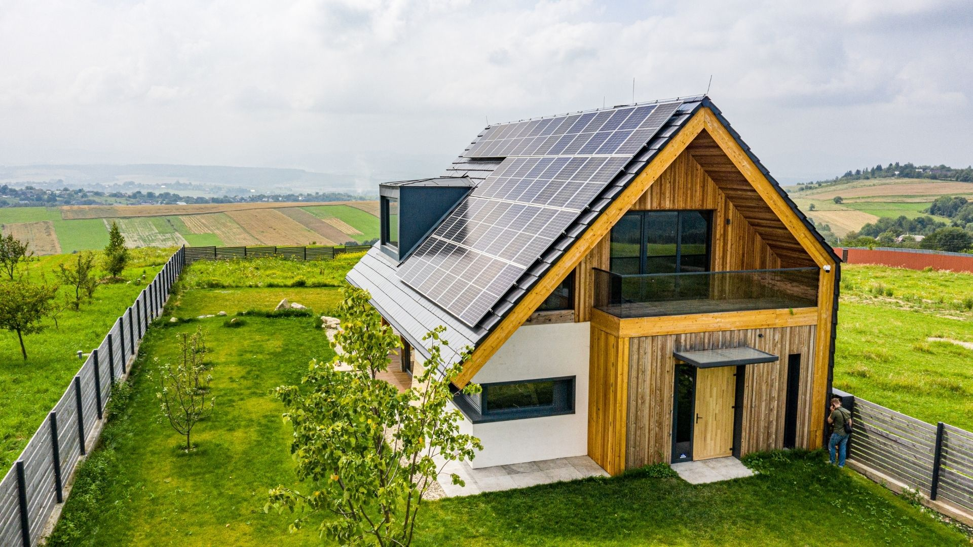 Eco home rural location
