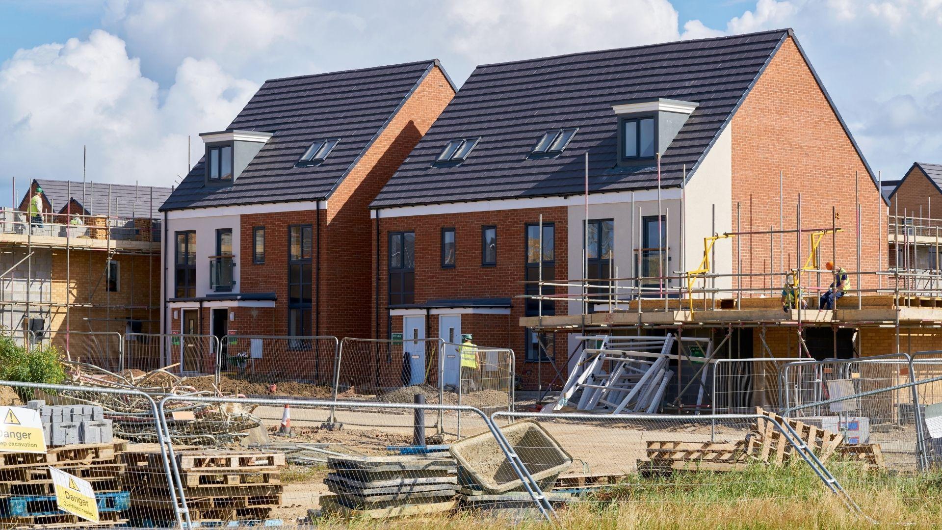 New rural housing construction